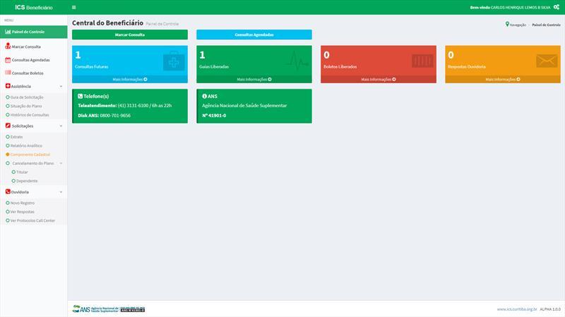 Beneficiários do ICS contam com novo portal para acesso pelo celular.
