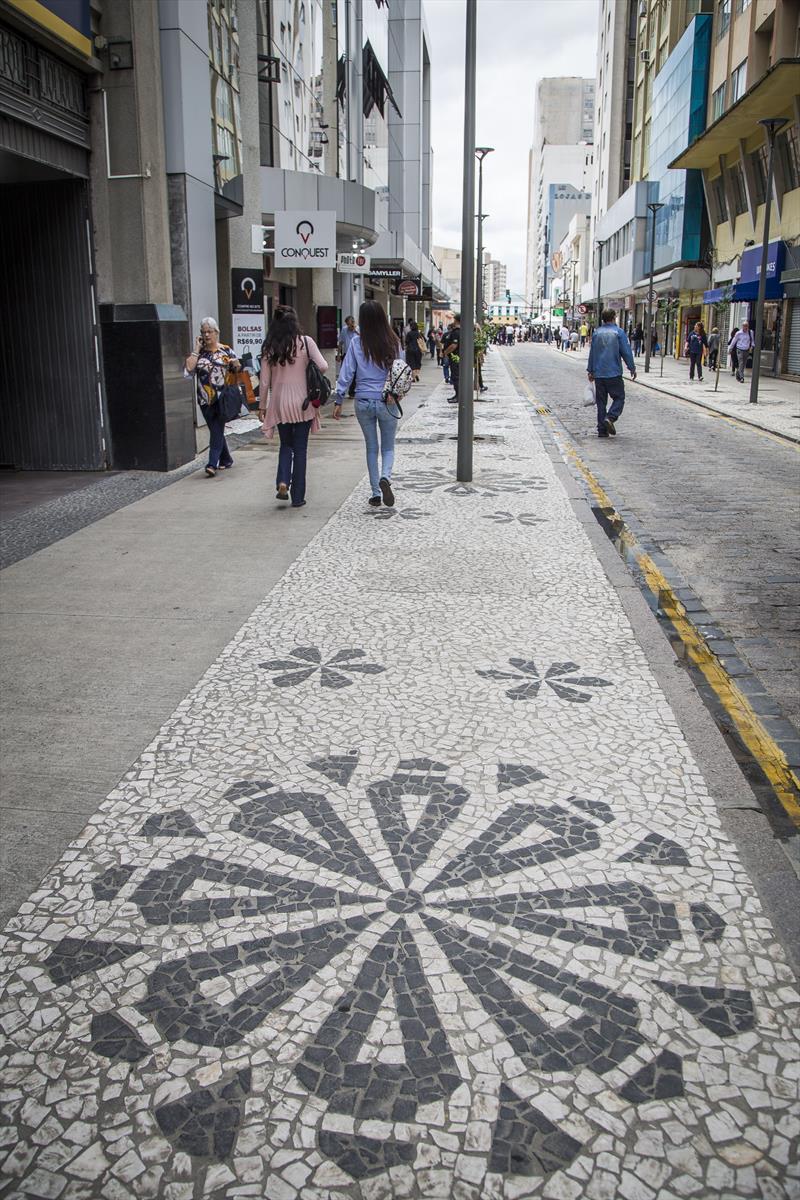 Revitalização da rua Voluntários da Pátria. Curitiba, 13/02/2020. Foto: Pedro Ribas/SMCS