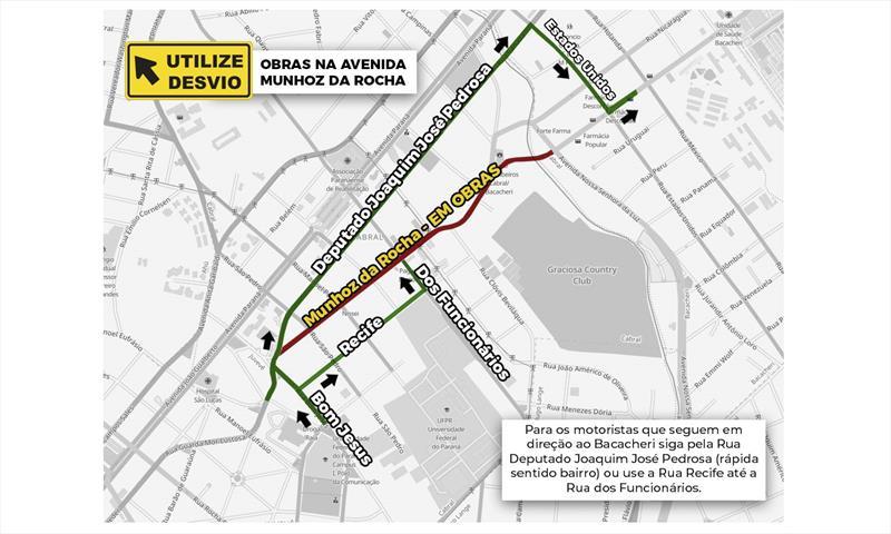SETRAN sugere caminhos alternativos no Cabral.