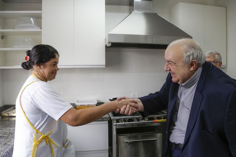Prefeito Rafael Greca visita o Instituto Princesa Benedikte. Curitiba, 14/02/2020. Foto: Pedro Ribas/SMCS