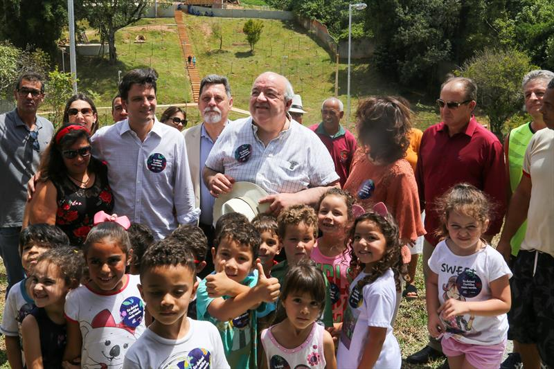 Foi realizado nesta terça-feira (18), a inauguração do Bosque da Colina, bairro Pilarzinho.  Curitiba, 18/02/2020 Foto: Rafael Silva