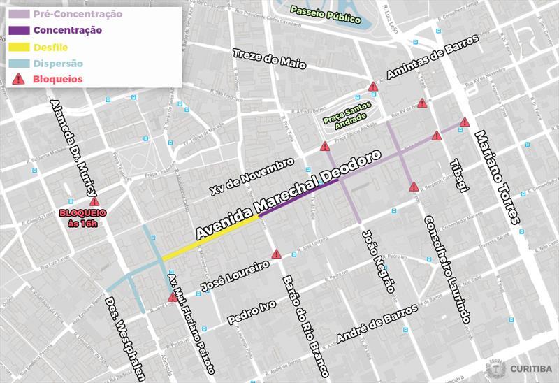 Marechal Deodoro terá bloqueios durante o feriado de Carnaval.