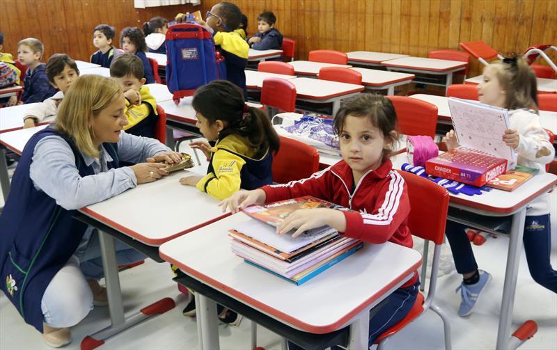 Prefeitura vai contratar mais professores de educação infantil e profissionais do magistério. Foto: Lucilia Guimarães/SMCS