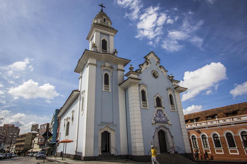 Igreja do Rosário, no Largo da Ordem. Foto: Pedro Ribas