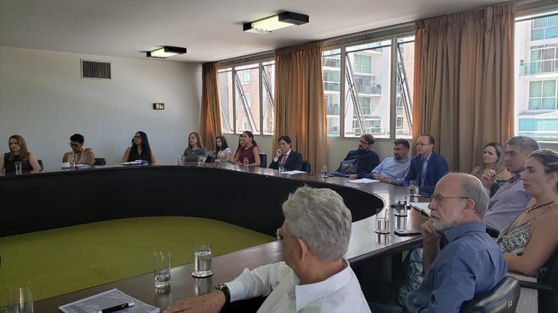 Promotorias do MP conhecem detalhes do projeto do Caximba. Curitiba, 13/03/2020. Foto: Divulgação