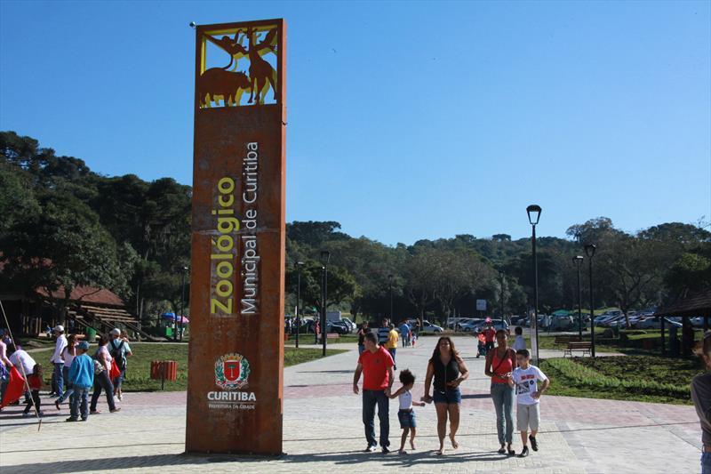 Eespaços como o Zoológico Municipal estão fechados.o Público. Foto: Cesar Brustolin/SMCS (arquivo)
