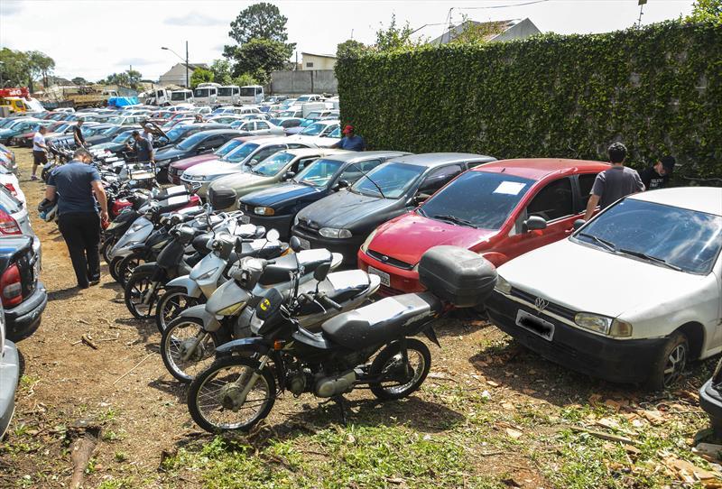 Carros e motos vão a leilão on-line. Foto: Levy Ferreira/SMCS (arquivo)