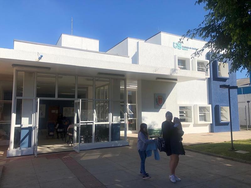 As Unidades de Saúde do município passam a atender de maneira reformulada a partir desta sexta-feira (27/3).  - Na imagem, a unidade de saúde Sabará. Foto: Divulgação