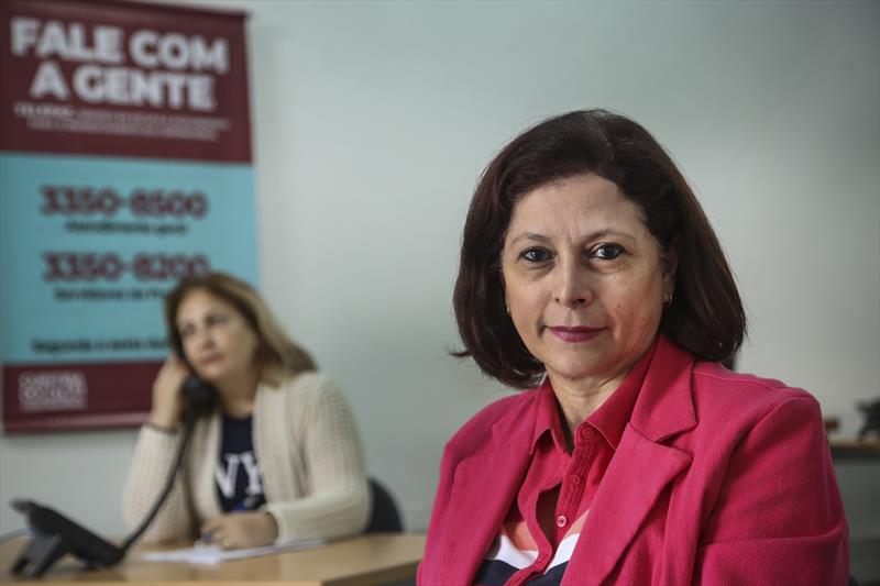 Ações do município no combate ao coronavírus.  - Na imagem, TelePaz, serviço telefônico de acolhimento emocional. Foto: Luiz Costa /SMCS