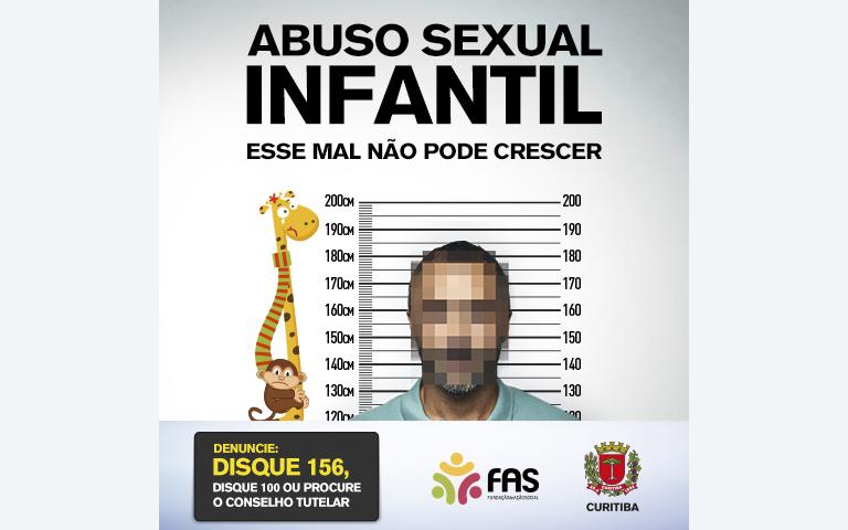 Campanha alerta contra abuso de crianças e adolescentes.