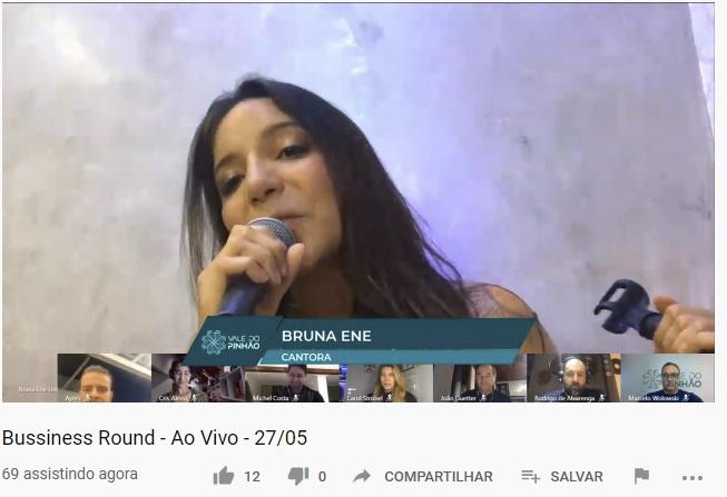 Business Round tem apresentação de música tema de campanha contra covid. Foto: Divulgação