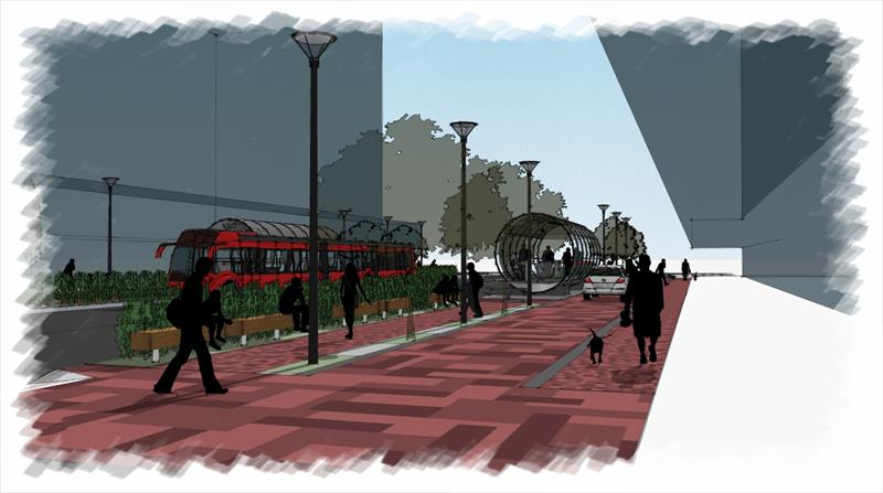 Curitiba garante mais R$ 501 milhões para investir no transporte. Ilustração: IPPUC