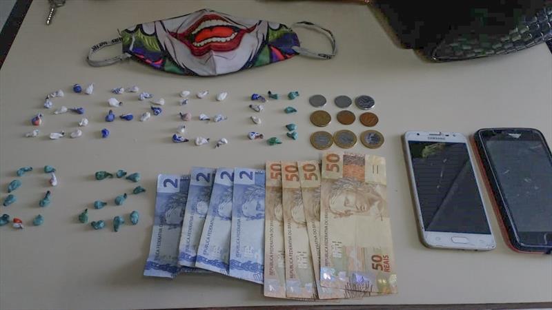 Guardas reprimem tráfico de drogas na Praça Tiradentes. Foto: Divulgação