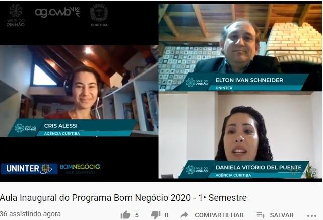 Rota 3 à distância do Bom Negócio começa com aula inaugural sobre desafios pós-pandemia. Foto: Divulgação