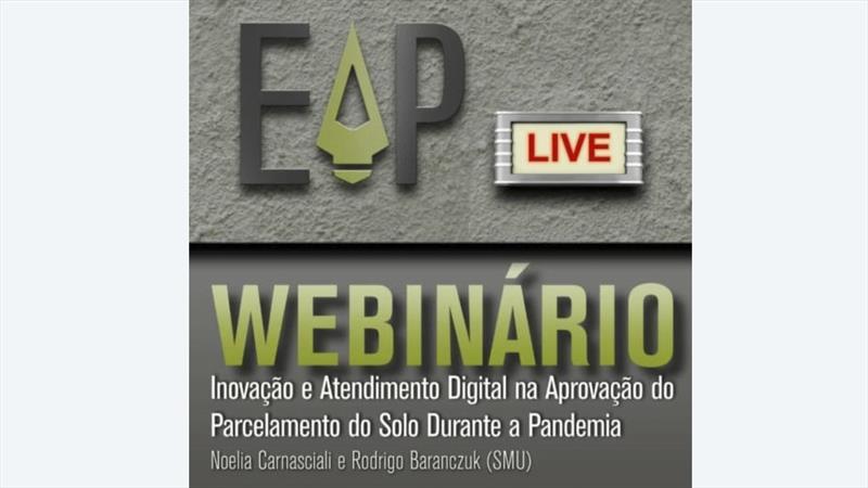 Conferência on-line discute procedimentos do urbanismo durante a pandemia.