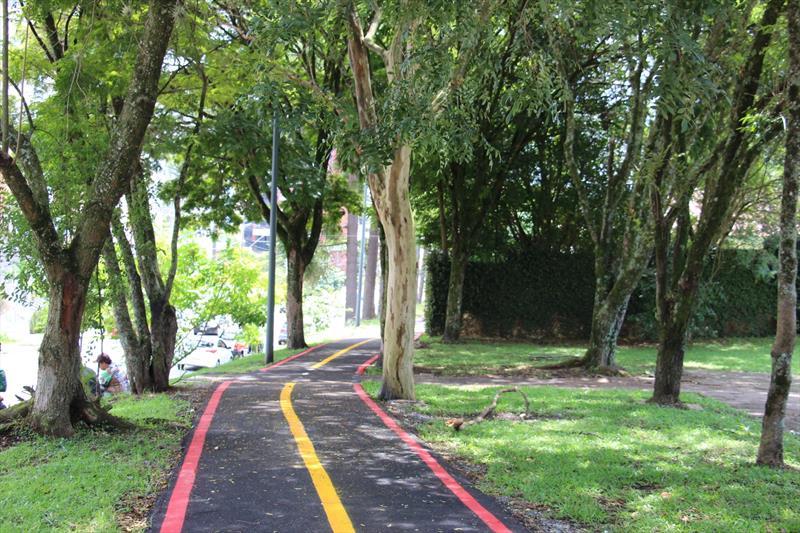 Obras de mobilidade com a implantação e revitalização de infraestrutura cicloviária também fazem parte do pacote de investimentos.  Foto: Divulgação