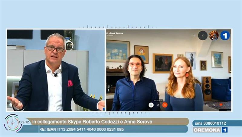 Concerto Virtual da Camerata Antiqua de Curitiba, repercute na região da Lombardia na Itália. Curitiba, 13/06/2020. Foto: Divulgação.