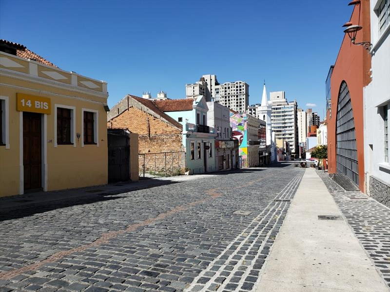 Curitiba planeja o futuro do turismo pós-pandemia. Foto: Pedro Ribas/SMCS