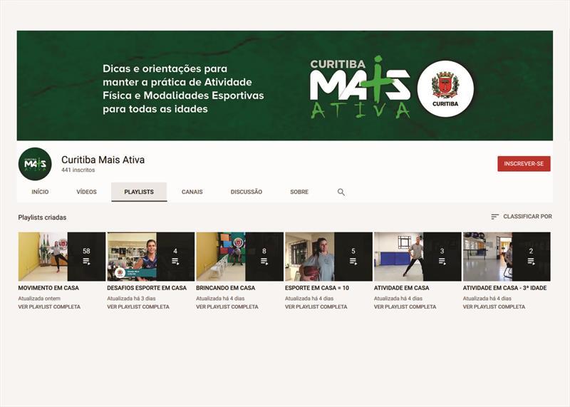 Canal no YouTube reúne todas as atividades on-line produzidas pela Smelj.