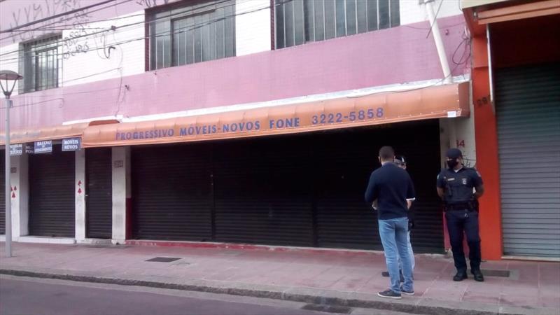Semana de fiscalizações teve interdição de lojas e de sete bares. Foto: Divulgação