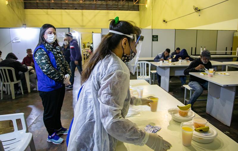 Abrigos da Prefeitura têm novo recorde de acolhimento a pessoas em situação de rua. - Foto: Daniel Castellano / SMCS