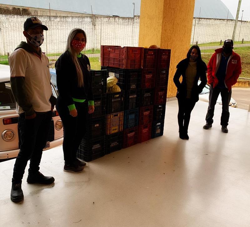 Mesa solidária amplia atuação e ganha apoio dos Sacolões da Família.  - Na imagem, Sacolão da Vila Sandra. Foto: Divulgação