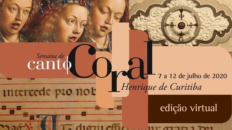 Semana de Canto Coral tem apresentações em vídeo e debates on-line.