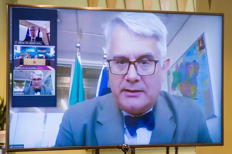 Ajuste fiscal garante investimentos para Curitiba.  - Na imagem, Diretor Regional da AFD Brasil/Conesul, Philippe Orliange. Foto: Divulgação