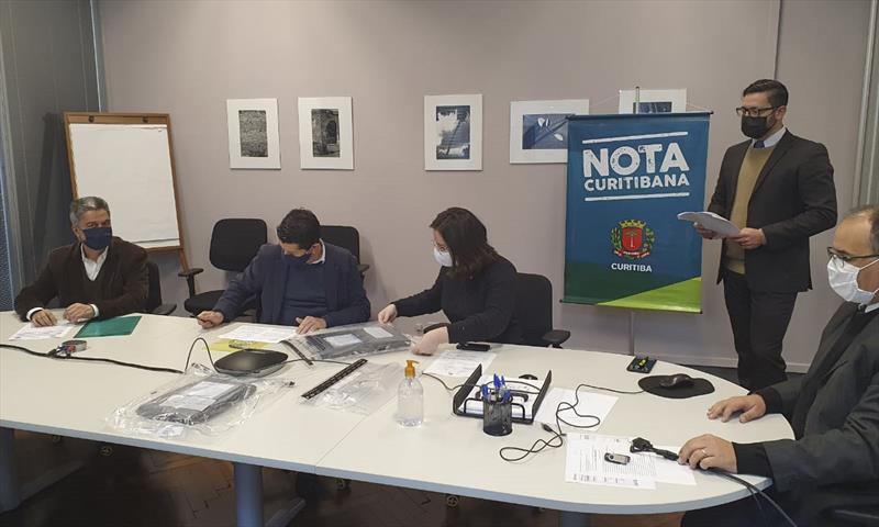 Confira os números sorteados do Nota Curitibana. Foto: Divulgação