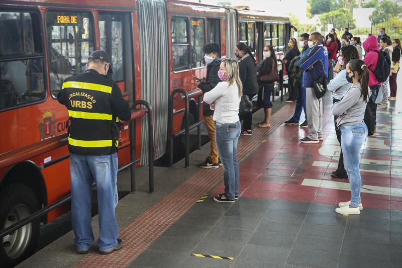 Projeto prevê prorrogar regime emergencial no transporte público. Foto: Luiz Costa/SMCS