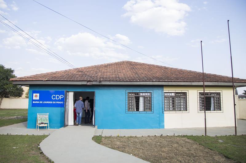 Entrega do Centro de Desenvolvimento Profissional (CDP) Maria de Lourdes Prado, no Tatuquara. Curitiba, 11/08/2020. Foto: Pedro Ribas/SMCS