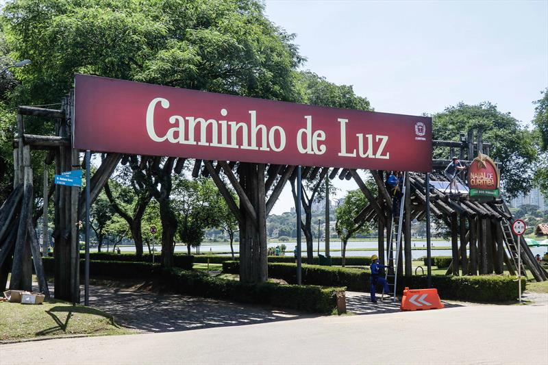 Natal drive-thru no Parque Barigui