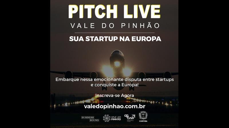 Inscrição para Pitch Live que pode levar startups para o mercado europeu vai até dia 8.