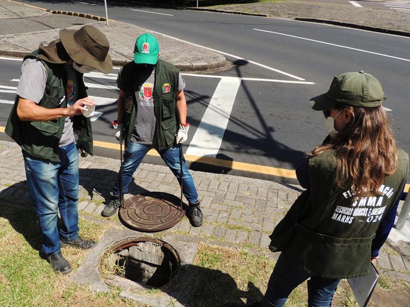 Vistorias hidrossanitárias das equipes do Meio Ambiente. Curitiba, 26/11/2020. Foto: Valdecir Galor/SMCS