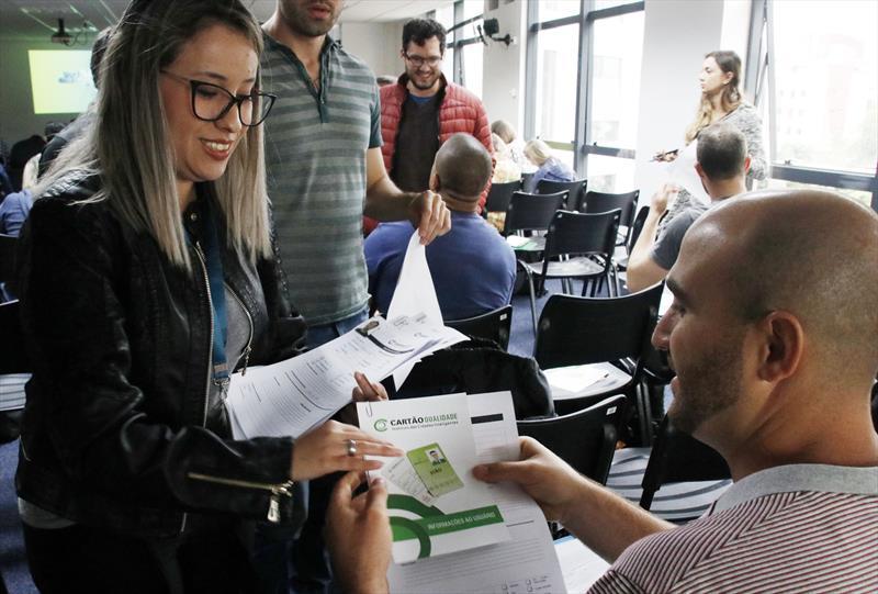 Integração funcional dos novos servidores contratados pela Prefeitura Municipal de Curitiba. Curitiba, 09/12/2019. Foto: Lucilia Guimarães/SMCS