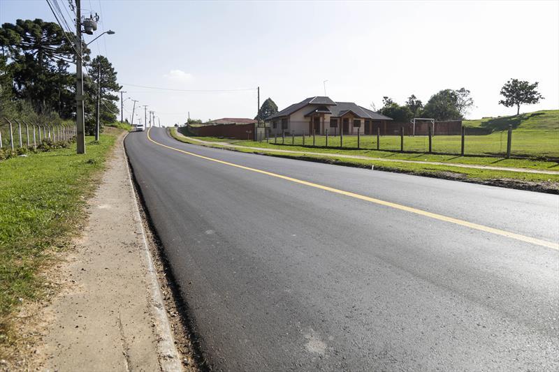 Regional Tatuquara terá mais 28 ruas asfaltadas.   - Na imagem,  rua Delegado Bruno de Almeida, no Tatuquara. Foto: Pedro Ribas/SMCS