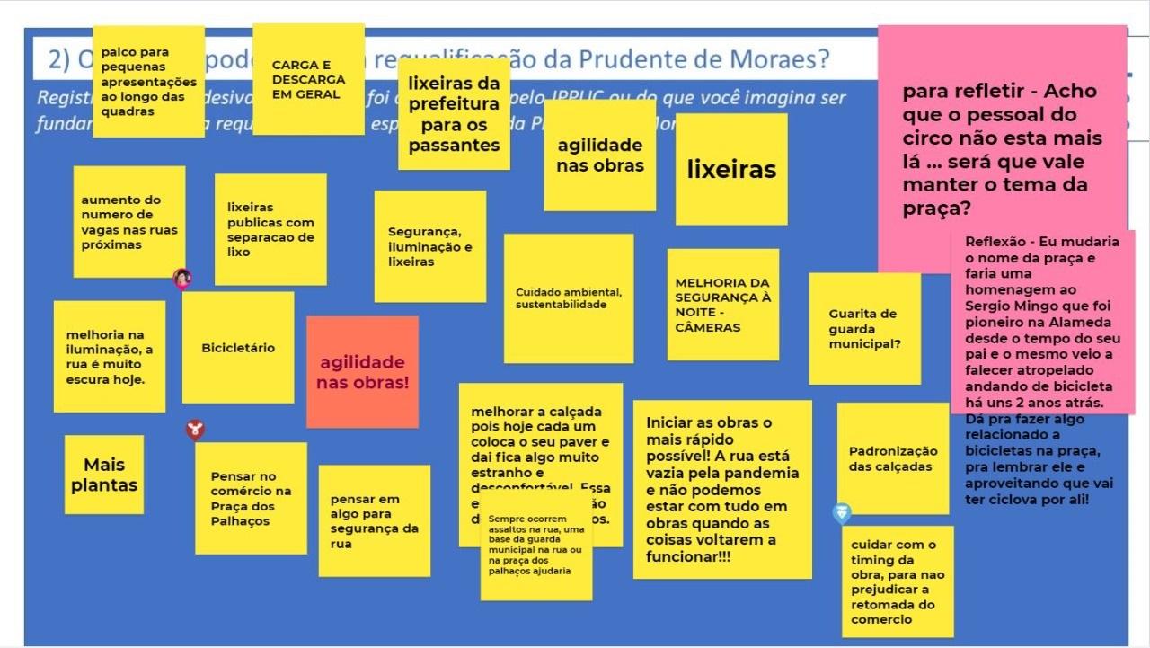 Comerciantes conhecem projeto da Prudente de Moraes