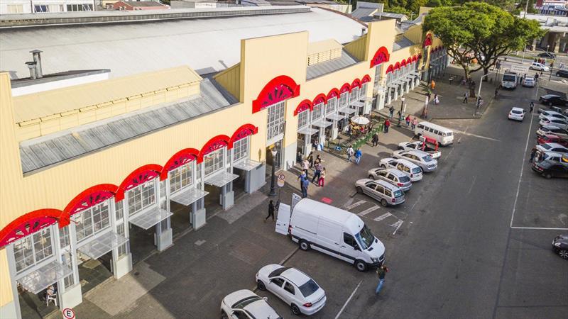 Mercado Municipal terá moderno Banco de Alimentos para população carente. Foto: Daniel Castelano/SMCS