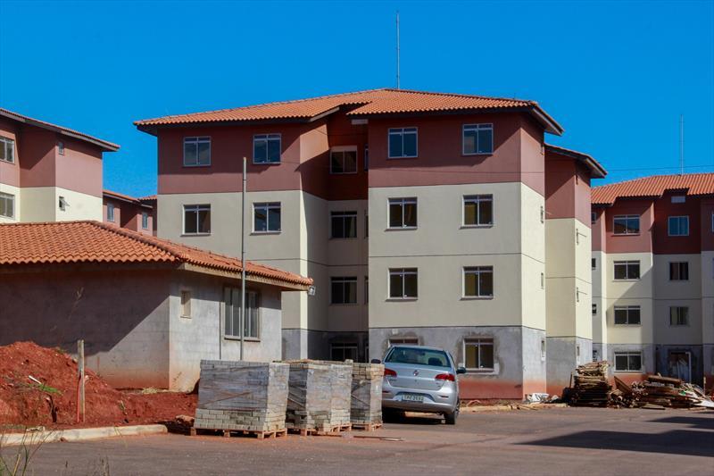 Residencial Théo Atherino.  Curitiba, 13/01/2021. Foto: Rafael Silva / Cohab