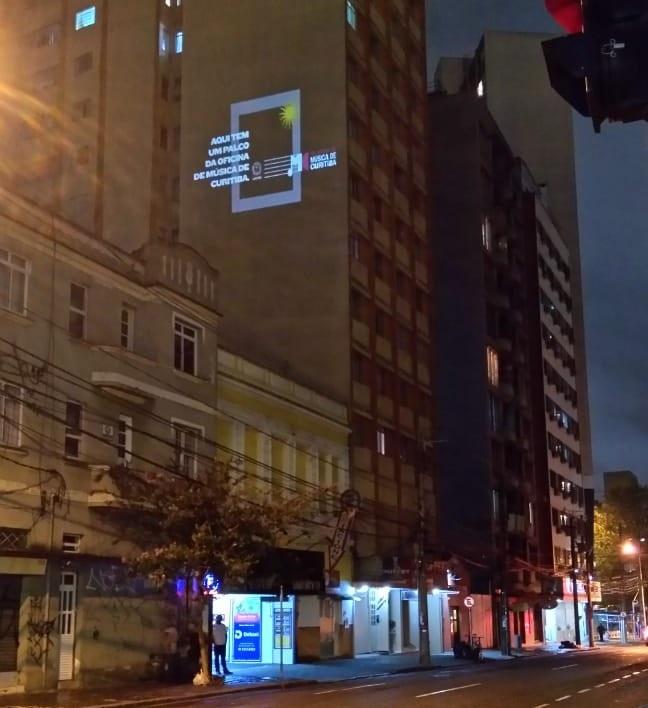 Oficina de Música vai ser estampada na fachada de prédios da cidade. Foto: Divulgação