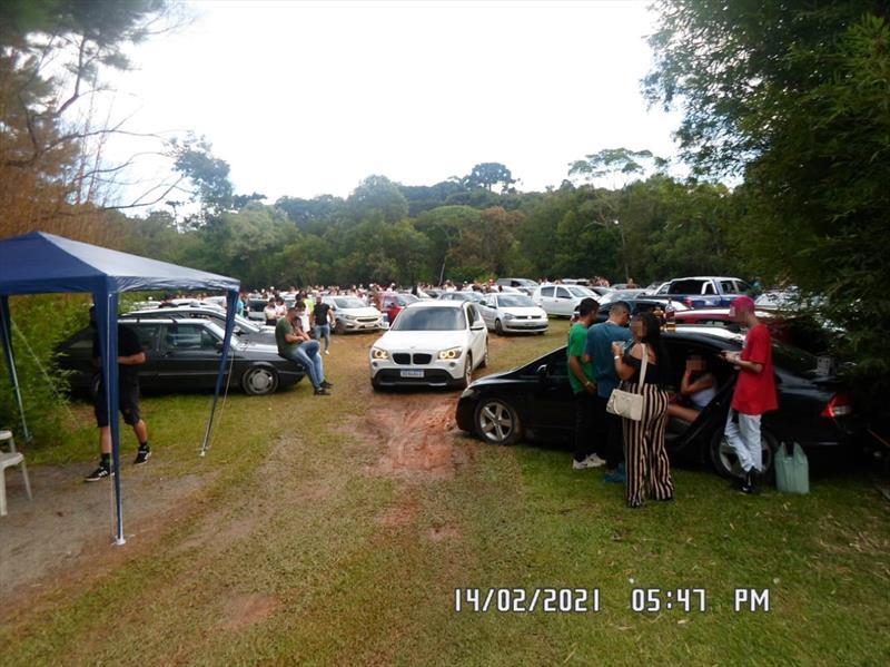 Equipes da AIFU aplicam R$711 mil em multas e dispersam aglomerações em diversos pontos da cidade. Foto: Divulgação