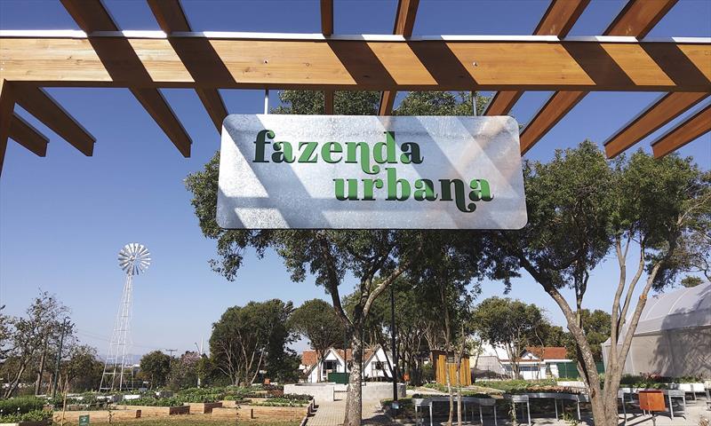 Visitas guiadas à Fazenda Urbana de Curitiba estão sendo retomadas com turmas semanais na próxima terça-feira dia 23/02/2021. Foto: Andre Prokofiev/SMCS