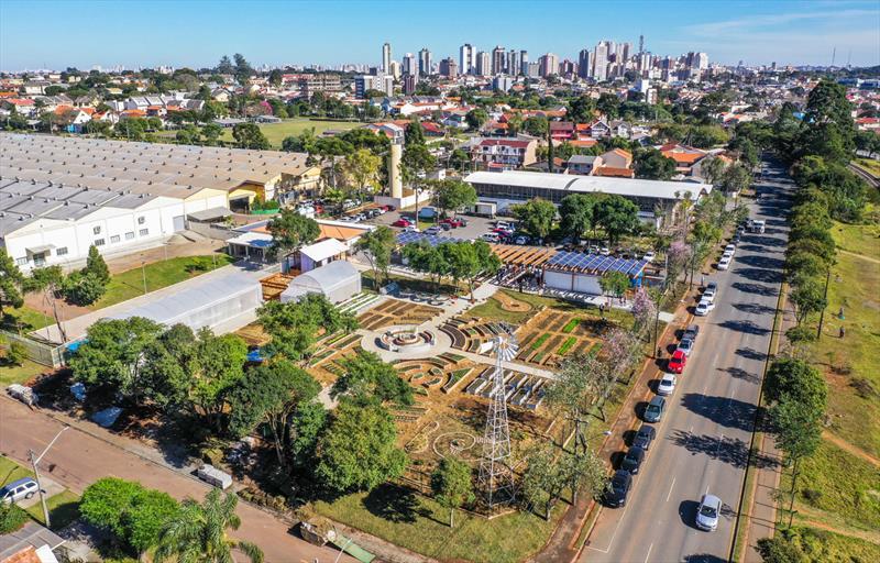 Visitas guiadas à Fazenda Urbana de Curitiba estão sendo retomadas com turmas semanais na próxima terça-feira dia 23/02/2021. Foto: Daniel Castellano / SMCS