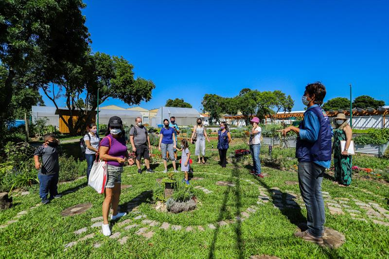 Visita guiada na Fazenda Urbana de Curitiba no Bairro Cajuru  - Curitiba, 23/02/2021 - Foto: Daniel Castellano / SMCS
