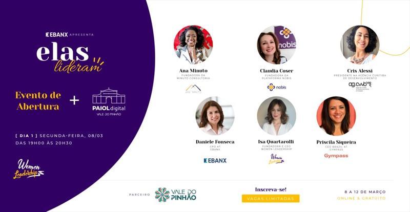 O Dia Internacional da Mulher será celebrado na próxima segunda-feira e Curitiba terá eventos on-line com uma edição especial do Paiol Digital.