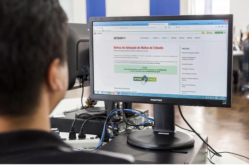 Atendimento da Setran é feito somente on-line. Foto: Valdecir galor/SMCS