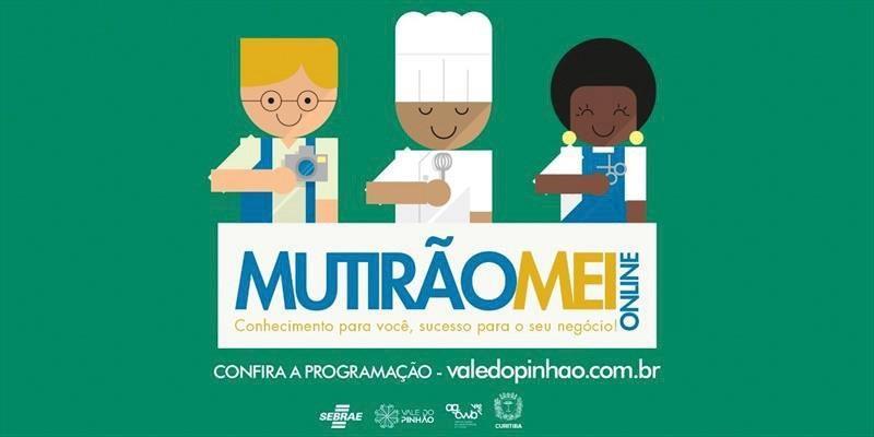 Maratona de empreendedorismo, Mutirão MEI on-line ocorre em maio.