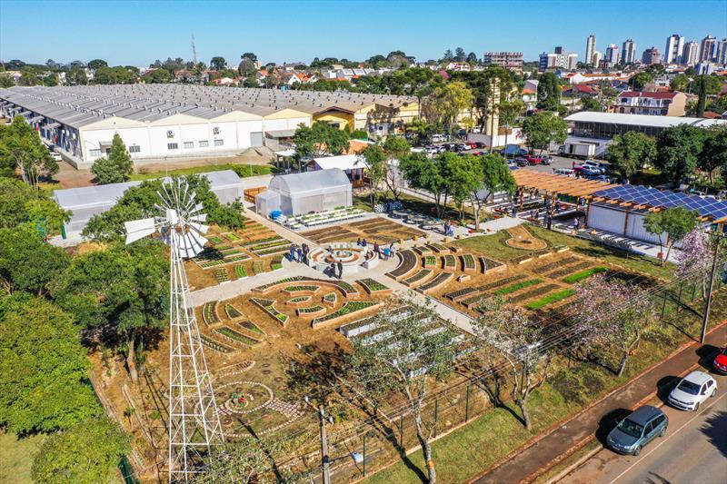 Fazenda Urbana já entregou 1,1 tonelada de alimentos a entidades do Mesa Solidária. - Foto: Daniel Castellano / SMCS