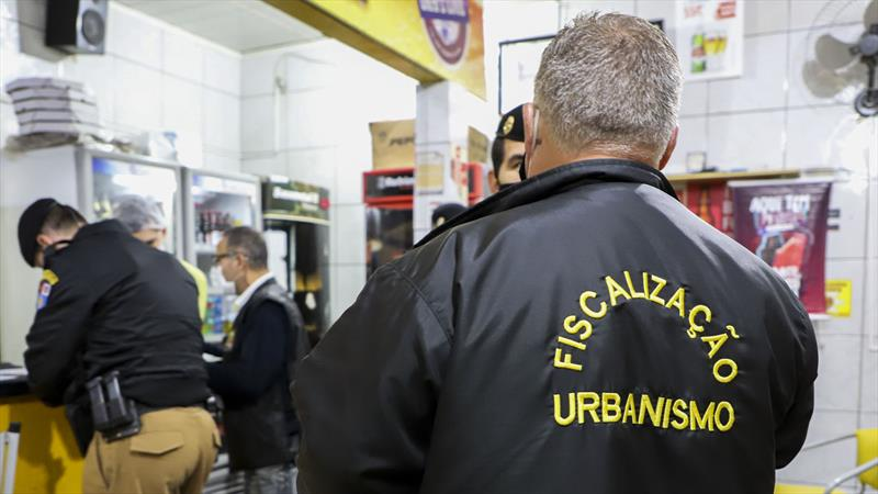 Fiscalização na cidade é diária, mesmo com flexibilização de atividades. Foto: Hully Paiva/SMCS
