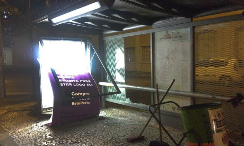 Vandalismo cresceu mais de 30% no transporte coletivo. Foto: Divulgação